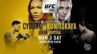 UFC 222 Results: Cyborg vs. Kunitskaya Headlines, Ortega Fights Edgar & Mike Pyle Retires