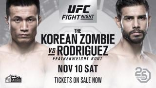 UFC Fight Night Denver Results: Yair Rodriguez & The Korean Zombie Headline, While Donald Cerrone Makes UFC History