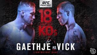 UFC Fight Night Lincoln Results: Justin Gaethje & James Vick Headline, Plus Jake Ellenberger Retires