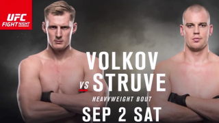 UFC Fight Night Rotterdam Results: Alexander Volkov - Stefan Struve Headline & Siyar Bahadurzada Returns