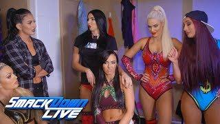 Smackdown Women's Roster Reacts To WWE Evolution Battle Royal Announcement Via GIFs