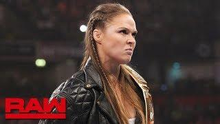 Ronda Rousey Releases Statement Following WWE Survivor Series; Plans To Be At Raw