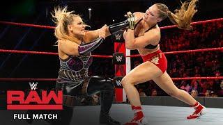 Ronda Rousey Says She's Looking Forward To Rematch Against Natalya Someday