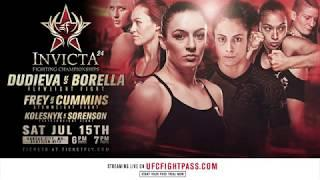 Invicta Fighting Championships 24 Results: UFC Veteran Milana Dudieva Headlines
