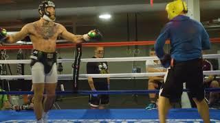 More McGregor vs. Malignaggi Sparring Footage