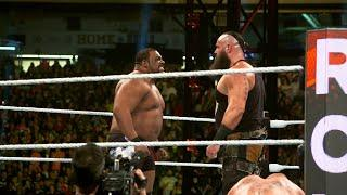 Keith Lee Says Face-Off With Brock Lesnar In 2020 Royal Rumble He Was Right Where He Belonged