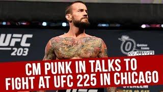 Report: CM Punk Facing Mike Jackson At UFC 225, Punk Tweets About Competing At Event