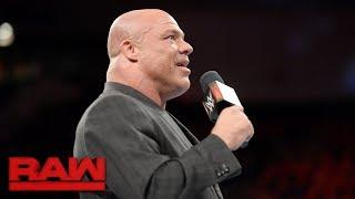 Kurt Angle Thinks Undertaker Did An Excellent Job At WWE Extreme Rules