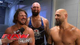 The Club -- AJ Styles, Karl Anderson, and Luke Gallows -- joined forces for a six-man tag main event for the SmackDown house show in Louisville, Kentucky.