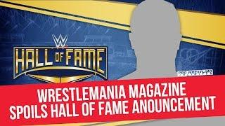 WrestleMania Magazine Possibly Spoils Hall Of Fame Inductee