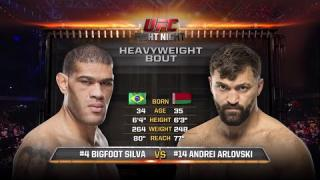 WATCH: Fight Night Hamburg Free Fight: Andrei Arlovski vs Bigfoot Silva