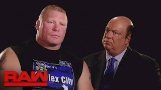 Report: Brock Lesnar Not Scheduled For Tonight's WWE Raw; Already Flew Home