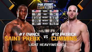 Fight Night Japan Free Fight: Ovince Saint Preux vs Patrick Cummins