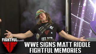 Video: Matt Riddle Signs With WWE, Debuts At NXT Takeover: Brooklyn IV | Fightful, Sean Ross Sapp