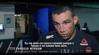 Fabricio Werdum Rips Colby Covington: 'He's A B-tch'
