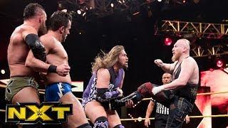 Alexander Wolfe of SAnitY returned to action this past weekend for WWE's NXT brand.