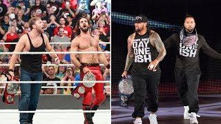 Seth Rollins And The Usos Are Teasing A Future Match On Twitter That Probably Won't Ever Happen