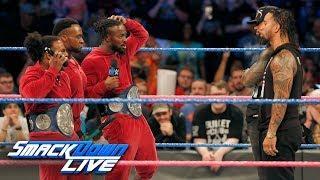 SmackDown Live Tag-Team Titles Match Set For 'Fastlane'