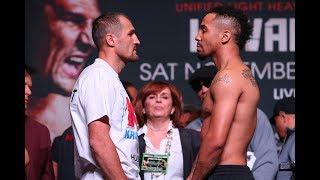 LIVE: Kovalev vs. Ward 2 Weigh-Ins