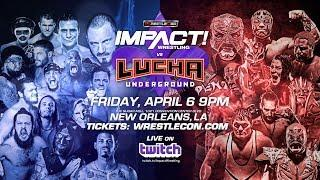Tag Team Championship Match Announced For Lucha Underground Versus Impact Wrestling