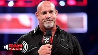 Goldberg On Another Possible WWE Return: 'Never Say Never, Dude'