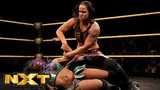 Ember Moon and Shayna Baszler go back and worth in this week's NXT main event.