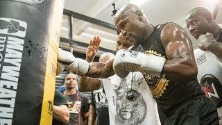 LIVE: Floyd Mayweather: Media Workout