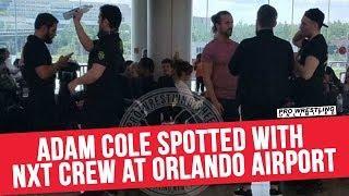 NXT Flights Delayed For Twelve Hours, Hilarity Ensues