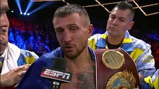 Vasyl Lomachenko vs. Guillermo Rigondeaux Gets Second-Highest Boxing Viewership On Cable For 2017