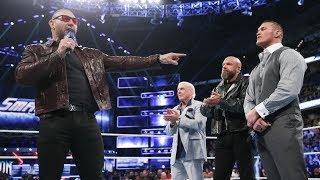 Fightful Reacts: Batista vs. Triple H Teased During Evolution Return At Smackdown 1000