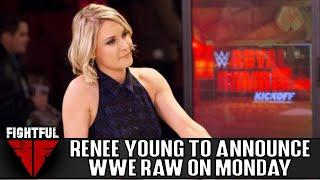 Renee Young Serving As Guest Commentator On WWE Raw Monday