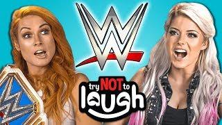 Fight Size Update: WWE Stars Do The 'Try Not To Laugh' Challenge, Throwback Photo Of Batista, Carmella, More