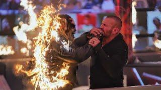 WWE TLC 2020 - WWE Universal Championship TLC Match: Roman Reigns vs, Kevin Owens Result