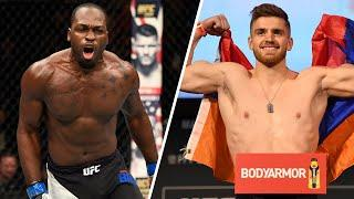 UFC Fight Night: Brunson vs. Shahbazyan Weigh-In Results, One Bout Canceled