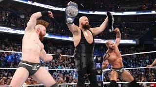 Fightful Reacts: The Bar Defeat New Day At Smackdown 1000 With The Help Of Big Show To Win Tag Titles