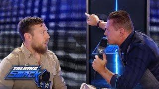 Renee Young misses Talking Smack, which produced several memorable moments like this confrontation between The Miz and Daniel Bryan