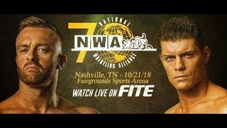 NWA's Cold Open For 70th Anniversary, Full Card, Start Time, How To Stream Online