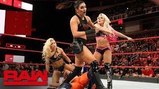Six-Woman Tag Match Set For Tomorrow's RAW