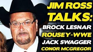 Jim Ross Doesn't Think Brock Lesnar Will Return To The UFC