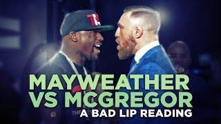 Mayweather vs McGregor - A Bad Lip Reading