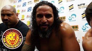Tama Tonga Wishes Bullet Club Elite Members 'Good Luck In WWE'