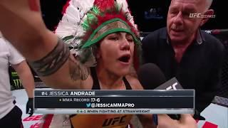 Jessica Andrade Emerges Victorious At UFC Japan, Has Many Options