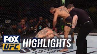 UFC 227 Undercard Action - Cub Swanson Falls, Pedro Munhoz and Renato Moicano Impress