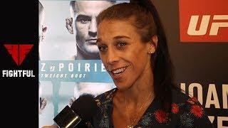 Joanna Jedzrejczyk One Ups Tecia Torres At UFC Calgary