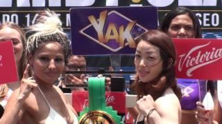 Report: Vacant WBO Female Super Flyweight Title Bout Set