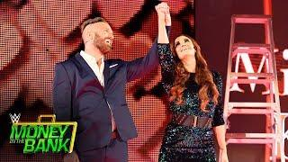 Mike and Maria Kanellis Debut At WWE Money In The Bank
