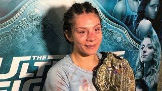 Nicco Montano Learned She Was Stripped Of Women's Flyweight Title On Instagram