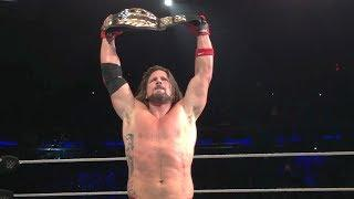AJ Styles Says Winning The US Title At MSG Was All Vince's Idea