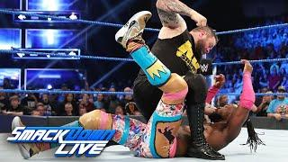 Kevin Owens Lives To Fight Again; Lays Out Kofi Kingston & Xavier Woods On WWE SmackDown Live