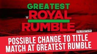 Fight Size Update: Fifth Man Being Advertised For The I.C. Title Ladder Match At The 'Greatest Royal Rumble', Enzo Amore, More